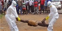 Rợn người lò thiêu tập thể bệnh nhân Ebola