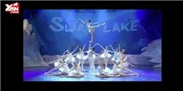 Ngạc nhiên với màn biểu diễn Hồ Thiên Nga đầy sáng tạo