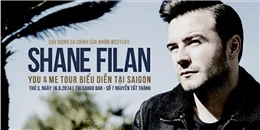 Shane Filan gửi lời chào fan Việt Nam