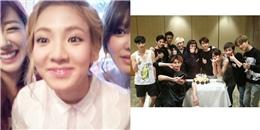 SNSD mừng sinh nhật Hyoyeon, EXO tri ân khán giả và ekip sau concert