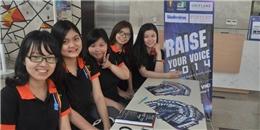 Raise Your Voice 2014: Cuộc thi âm nhạc cho sinh viên đam mê ngoại ngữ
