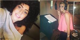 Lady Gaga đội tóc giả, Britney Spears quay lại phòng thu