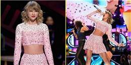 "Taylor Swift ""bùng cháy"" tại iHeart Radio Music Festival"