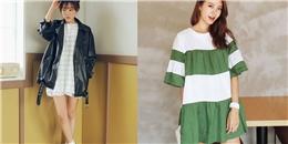 Diện váy babydoll cực teen cho mùa thu
