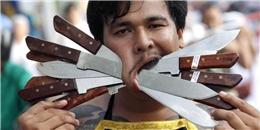 Rùng rợn nghi thức  hành xác  ở lễ chay tịnh Thái Lan