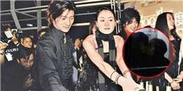 Tạ Đình Phong bị bắt gặp hôn tình cũ Vương Phi
