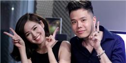 """Bắt gặp Tâm Tít """"gần gũi"""" với Trịnh Thăng Bình trong phòng thu"""