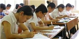 Kỳ thi THPT quốc gia 2015: Thí sinh phải thi tối thiểu 4 môn