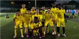 Tưng bừng khai mạc Giải bóng đá Yancom Cup 2014
