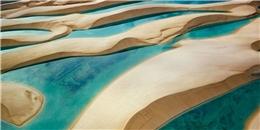 """Ngắm """"sa mạc biển"""" Lencois Maranhensses đầy lý thú"""