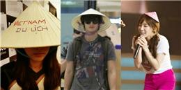 Ngắm sao ngoại đáng yêu diện nón lá, áo dài Việt Nam