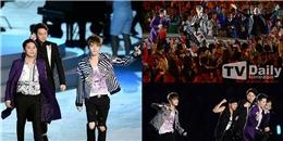 JYJ khuấy động lễ khai mạc Incheon Asian Game 2014 khiến fans vỡ òa