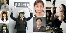 """Loạt hình """"ngày ấy - bây giờ"""" độc đáo của dàn mỹ nhân đình đám xứ Hàn"""