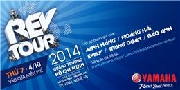 Tiếp nối 'hào khí sông Lam' với Yamaha Rev Tour 2014