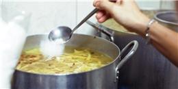 Người Việt Nam ăn muối nhiều... gấp 2 lần mức cho phép