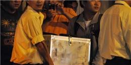 Cảnh sát phong toả khu vực, thu giữ thiết bị chứa phóng xạ
