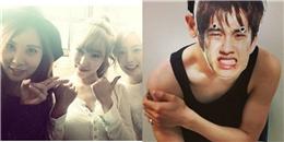 Taeyeon khoe hình TaeTiSeo cực xinh tươi, Chanyeol hứng thú với quà fan tặng