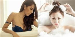 10 mỹ nhân Việt gợi cảm trong bồn tắm