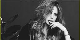 Ngắm Lindsay Lohan đẹp hút hồn trên tạp chí Wonderland