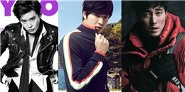 Mỹ nam xứ Hàn khoe vẻ nam tính trong những bộ ảnh mới nhất