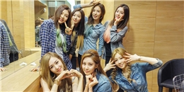 Red Velvet thể hiện tình cảm với đàn chị TaeTiSeo