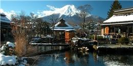 Tuyệt mỹ những ngôi làng đẹp như tranh ở Nhật Bản