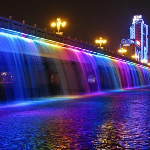 Kỳ ảo đài phun nước trăm sắc ở cầu Banpo