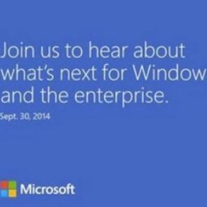 Microsoft tổ chức sự kiện ngày 30/9, Windows 9 ra mắt?