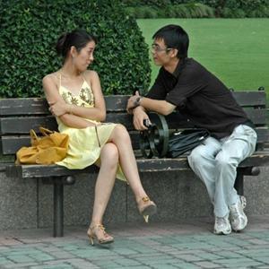 """""""Thần tình yêu"""" của trai gái ế ở Thượng Hải"""