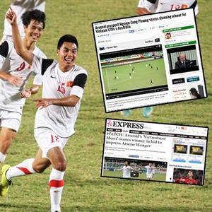 Bóng đá trẻ Việt Nam vươn ra thế giới