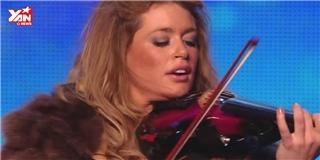 Choáng  với màn trình diễn violin sáng tạo của thí sinh Britain's Got Talent