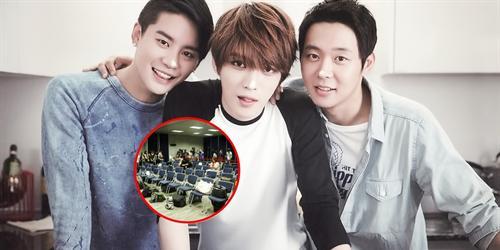 JYJ choáng vì phóng viên Đài Loan đồng loạt rời khỏi buổi họp báo