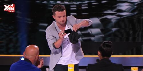 Biểu diễn ảo thuật với iPhone khiến khán giả bị... sốc!