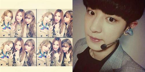 TaeTiSeo cực đáng yêu trong hậu trường, Chanyeol trấn an fan