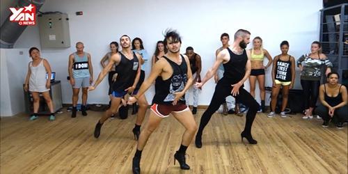 3 chàng trai nhảy trên giày cao gót trở lại với clip vũ đạo mới cực đẹp