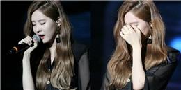 Seohyun khóc nức nở khi hát thay Jessica tại fan meeting
