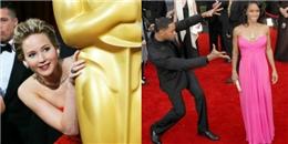 Những lần  nhắng nhít  trên thảm đỏ của sao Hollywood