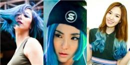 Những nữ thần tượng Hàn  hút hồn  với mái tóc màu xanh
