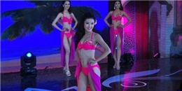 Thí sinh Hoa hậu Việt Nam khoe dáng nỏng bỏng với bikini