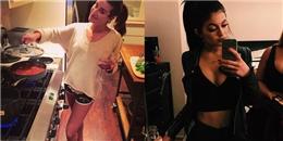 Lea Michele đảm đang vào bếp, Kylie Jenner khoe vòng 1 gợi cảm