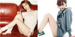 Mỹ nhân Hàn cá tính với phong cách thời trang  không quần