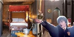 """Cư dân mạng """"phát sốt"""" với khách sạn Harry Potter"""