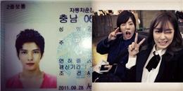 Jaejoong khoe ảnh hộ chiếu cực đẹp trai, Tiffany nhí nhố với Sunny ngoài sân bay