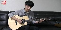 Tài năng guitar Hàn Quốc tung clip cover hit của Adam Lavine