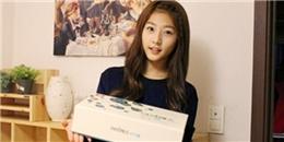 Kim Sae Ron  bồi bổ  nhân sâm cho các tiền bối