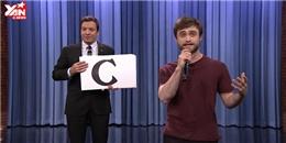 Harry Potter  trổ tài đọc rap  như tên bắn