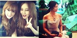 Tiffnay chào đón em út gia nhập Instagram, Ha Ji Won khoe vai trần quyến rũ