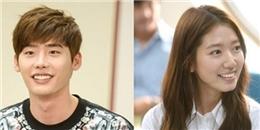 Lee Jong Suk và Park Shin Hye hào hứng trong buổi đọc kịch bản Pinocchio