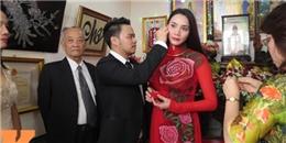 Lễ đính hôn ấm cúng của Trang Nhung