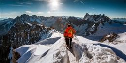 Choáng ngợp với đỉnh núi hùng vĩ Aiguille du Midi